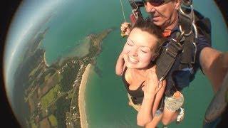 Sara Hardman - Skydive, Mission Beach Australia