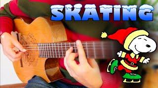 SKATING (Vince Guaraldi-Charlie Brown Special) Flamenco Guitar - Ben Woods