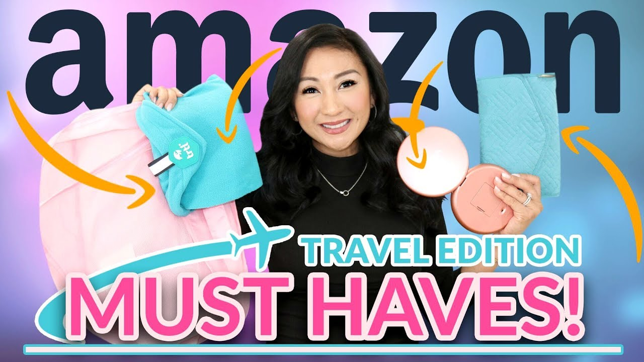 AMAZON TRAVEL MUST-HAVES! | Traveller Accessories