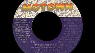 Jackson Five ~ Dancing Machine 1973 Disco Purrfection Version