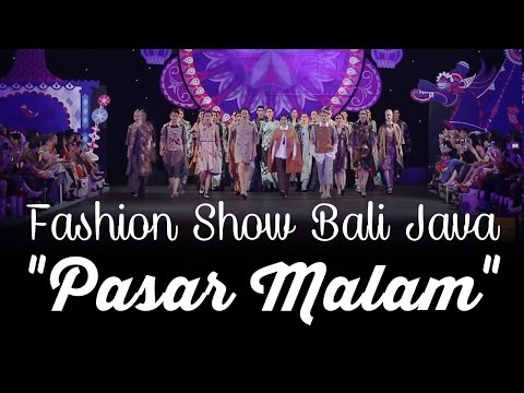 """Fashion Show Bali Java """"Pasar Malam"""""""
