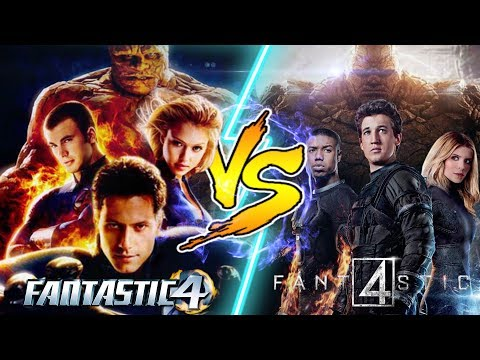 Fantastic Four vs Fantastic Four! WHO WOULD WIN IN A FIGHT?