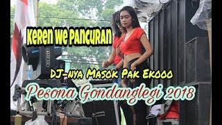 Asli Keren Live DJ Feat We Pancuran di Pesona Gondanglegi 2018