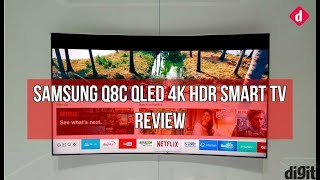 Samsung QLED Q8C 4K HDR Smart TV Review | Digit.in