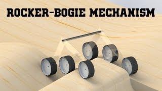 rocker bogie mechanism