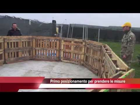 Piscina con 12 bancali prima parte youtube - Piscina interrata fai da te ...