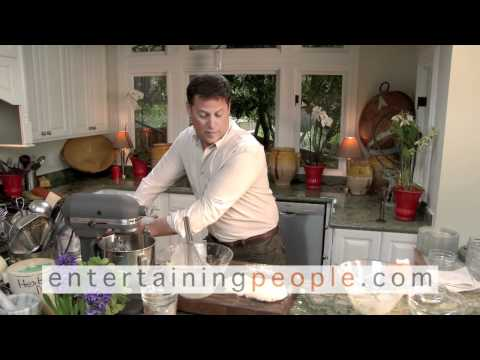 PORTER BROOKS CELEBRITY CHEF/TV HOST/AUTHOR & STYLE EXPERT  Making High Tea Hip Again!  Part One