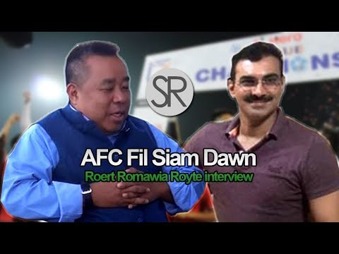 SR : AFC Film Siam Dawn | RRR Interview [10.11.2017]