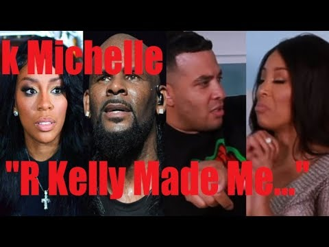 K MICHELLE REVEALS R KELLY FORCED HER TO JASON LEE & HOLLYWOOD UNLOCKED