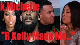 K MICHELLE REVEALS R KELLY FORCED HER TO... (JASON LEE & HOLLYWOOD UNLOCKED)