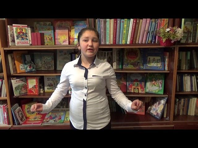 Изображение предпросмотра прочтения – ЭльнараРабаданова читает произведение «Бабочка» А.А.Фета