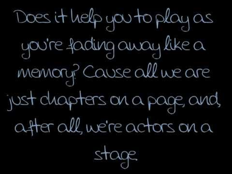 All Time Low- Actors (Lyrics)
