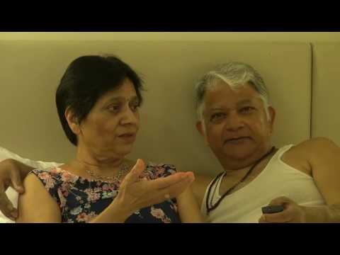 Aruna & Hari Sharma pleasure Kiss 39th Marriage Anni Radisson Blu 4* Rm 323 Milan, Jul 29, 2017