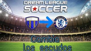 Cambia TODOS los escudos en Dream League Soccer •|Cambiar escudos DLS |•