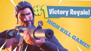 Fortnite high kill victory royale!! Smg god!!!
