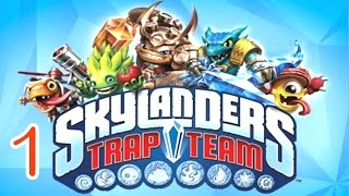 Skylanders: Trap Team - Dark Edition  walkthrough Part 1 - (PS4)
