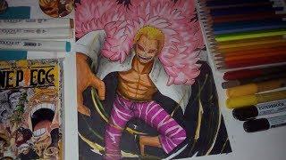 Drawing Donquixote Doflamingo / Joker  - One Piece ( Speed Drawing ) // Nyu Ackerman ❤