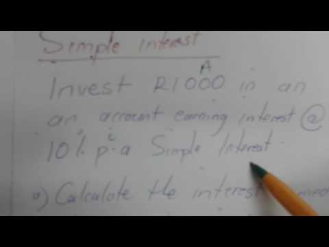 INTEREST CALCULATION AND ANNUITIES