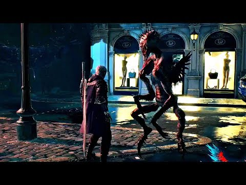 DEVIL MAY CRY 5 - New Gameplay Weapons & Goliath Boss Fight