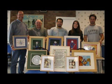 Uk School Of Framing Picture Framing Courses Youtube