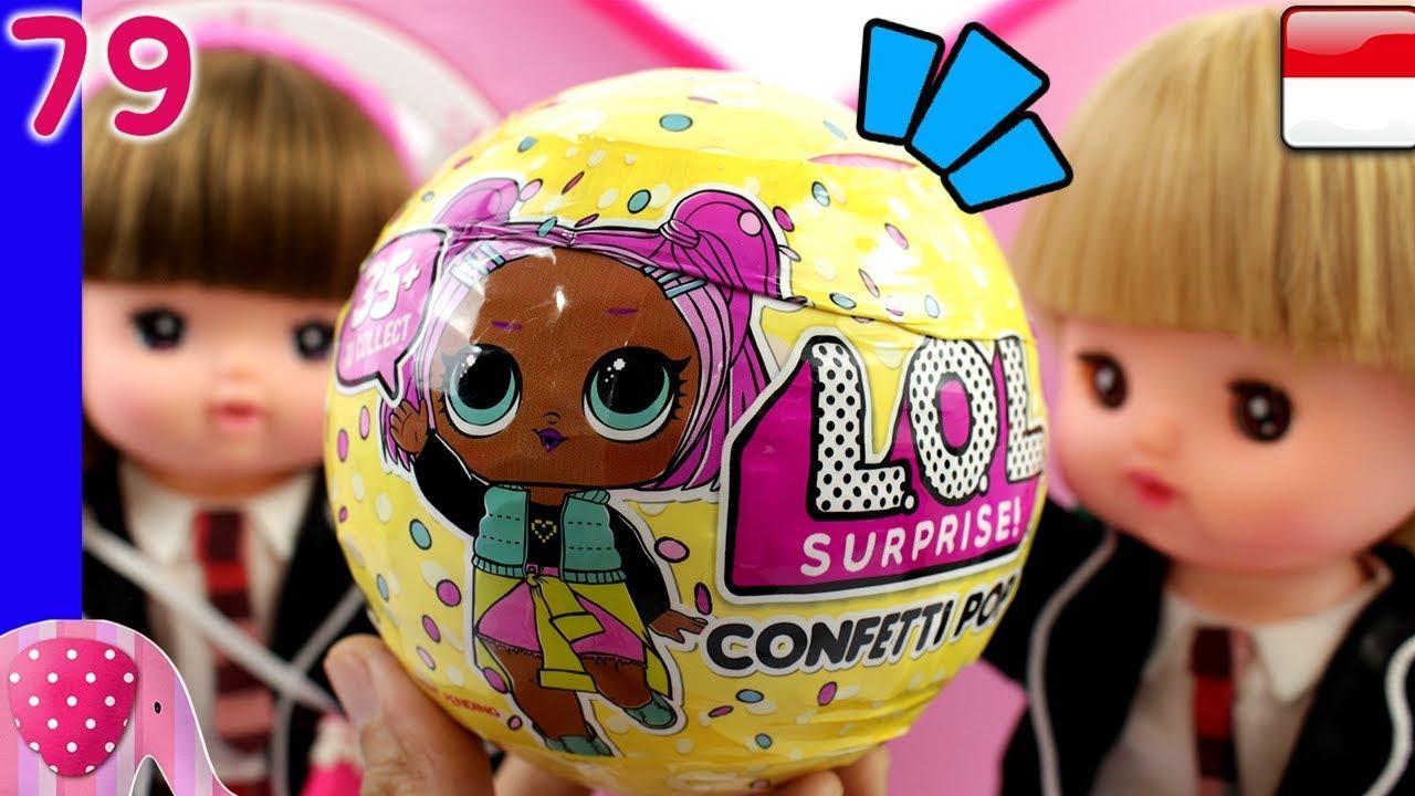 Boneka Lol Ku Lol Surprise Confetti Pop Mainan Boneka Eps 79
