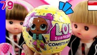 Boneka LOL ku ! - LOL Surprise Confetti Pop - Mainan Boneka Eps 79 S1P10E79 GoDuplo TV