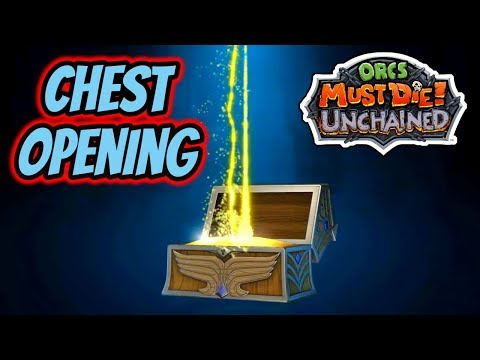 Orcs Must Die! Unchained | Chest Opening