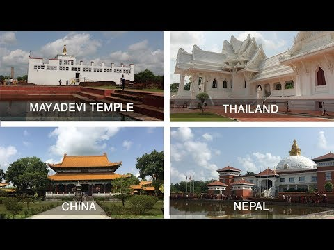 Lumbini, the birthplace of Lord Budha | Monastries and Stupas inside Lumbini