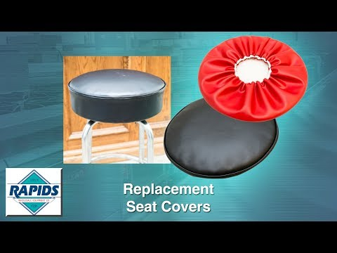 How to Fix Your Damaged Round Barstool Seat Cushion with a Cover