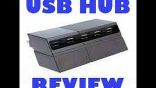 USB hub Review - Ps4