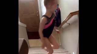 Lucy Fisher 6 year old gymnast