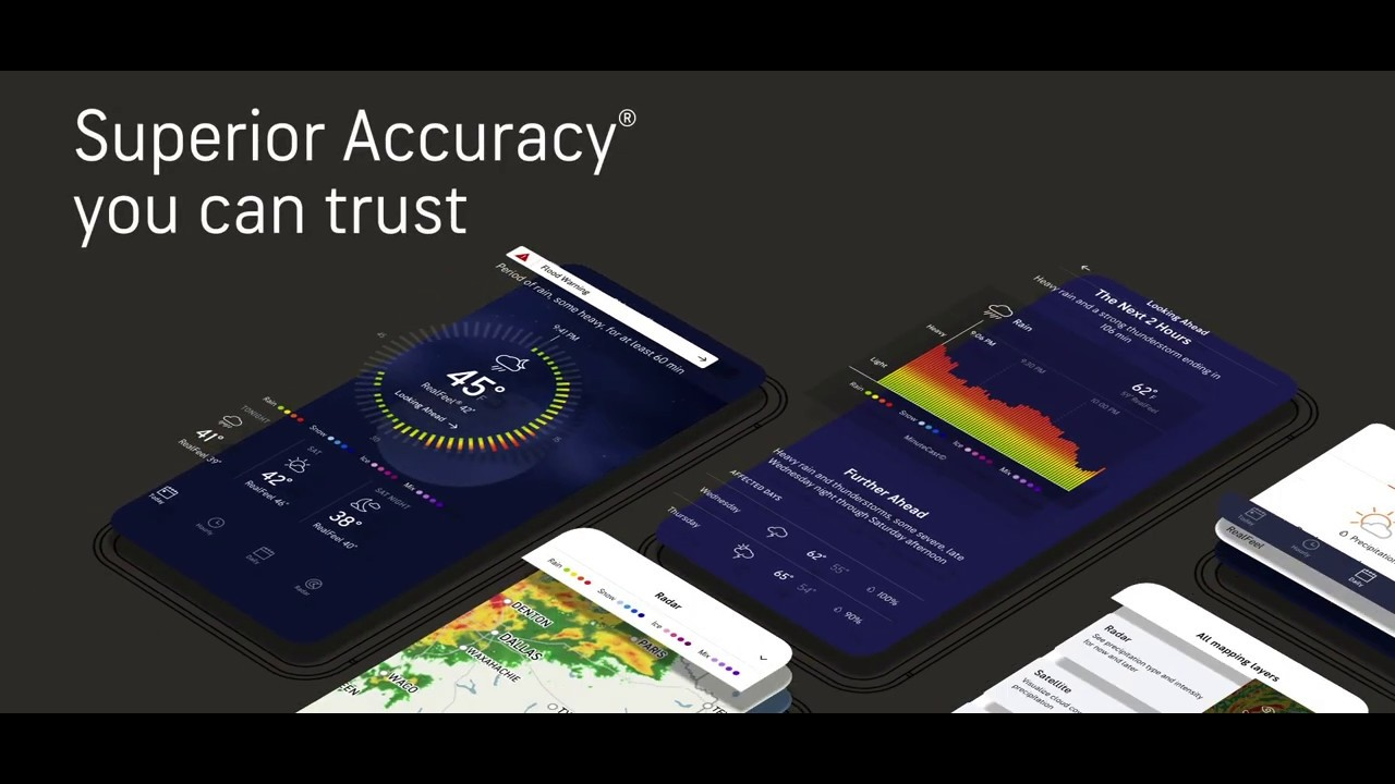 AccuWeather: Live weather radar & local forecast by AccuWeather - more  detailed information than App Store & Google Play by AppGrooves - #2 App in  Weather Forecast - Weather - 10 Similar