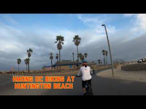 Hmoob OC Caij Bike Huntington Beach