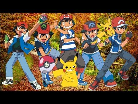 Evolution Of Ash Ketchum