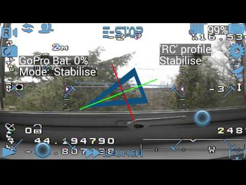 Announcing DronePro - a $5 Android Ground Controller app with GoPro