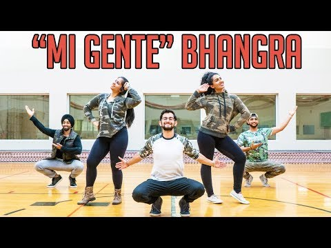 "Bhangra Empire - ""MI GENTE"" Choreography"