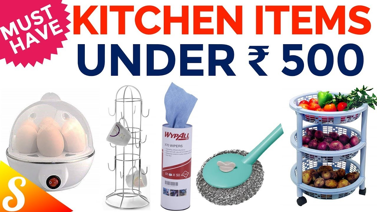 Essential Kitchen Tools Under Rs. 500 | 15 Must Have Kitchen Tools | Part II