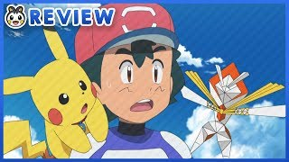 Ash Meets Kartana!   Pokemon Sun and Moon Episode 124 Review
