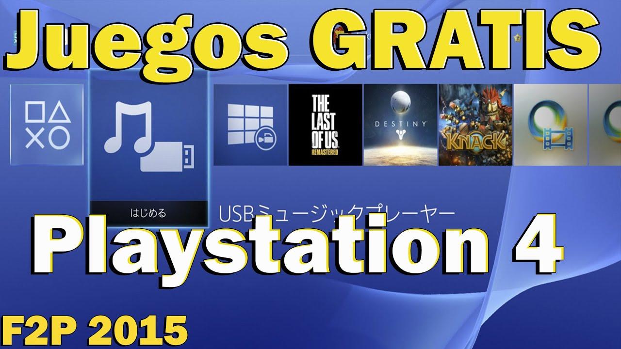 Guia Juegos Gratis Playstation 4 Youtube