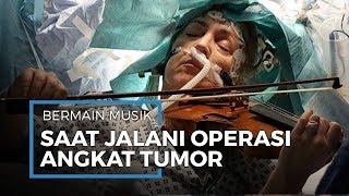 Pertama Kali Jahit Kepala Pasien Tumor Otak di Ruang Operasi.
