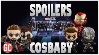 ¡SPOILERS AVENGERS 4: ENDGAME! Lista De Personajes Confirmados Por La Linea Cosbaby De Hot Toys