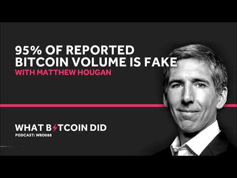 Matthew Hougan from Bitwise on Why 95% of Reported Bitcoin Trade Volume is Fake