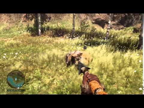 Far Cry Primal Saber tooth Tiger vs Boar