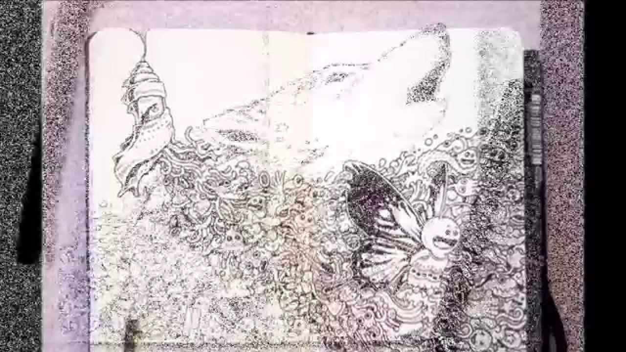 Impressively Detailed Pen Doodles By Kerby Rosanes