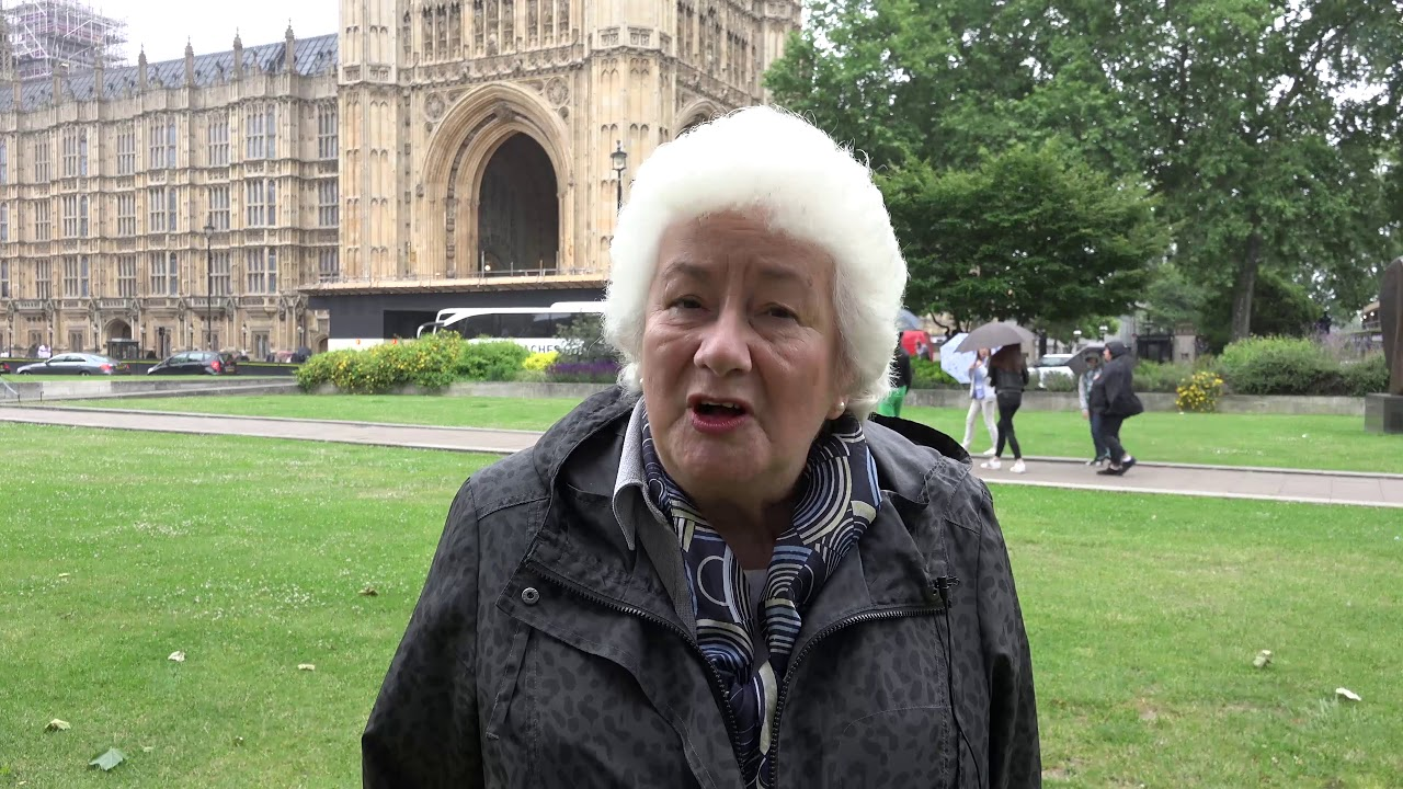 Baroness Harris of Richmond supports the 'Free Iran' convention
