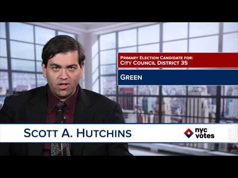 Scott A. Hutchins: Candidate for Council District 35