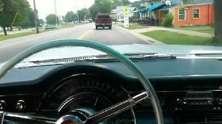 Cruising in the 1965 Chrysler New Yorker in Tonawanda, NY