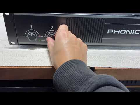 【夢響音響工作室】PHONIC MAX860 專業級後級擴大機 一元起標無底價!!