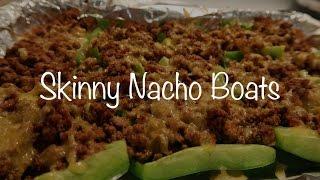 Skinny Nacho Boats! - Collab with Sarah Greco!
