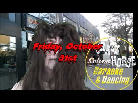THE CRAZY HORSE SALOON HALLOWEEN BASH 2014